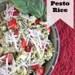 Italian Pesto Rice {with Minute® Rice}