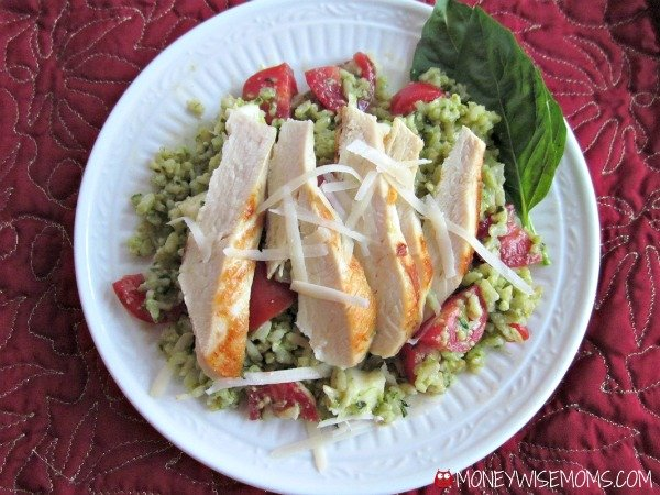 Italian Pesto Rice | #MinuteHoliday | MoneywiseMoms
