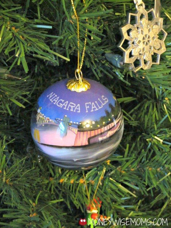 Niagara Falls Christmas Ornament | MoneywiseMoms