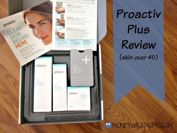 Proactiv Plus Review | Skin Over 40 | MoneywiseMoms