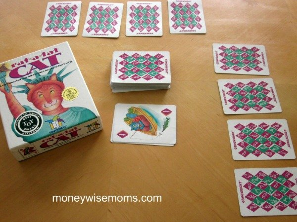 Rat a Tat Cat Game | Favorite Family Games Gift Guide | MoneywiseMoms