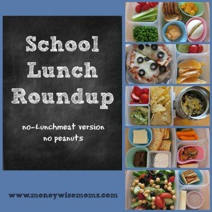 School Lunch Roundup | MoneywiseMoms