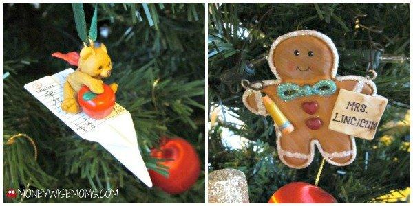 Teacher Christmas Ornaments | MoneywiseMoms