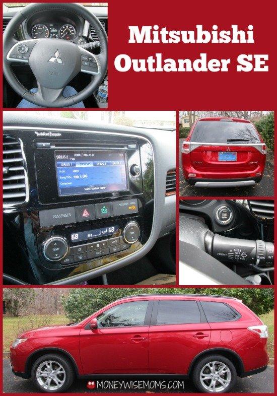 Mitsubishi Outlander #CarReview | MoneywiseMoms