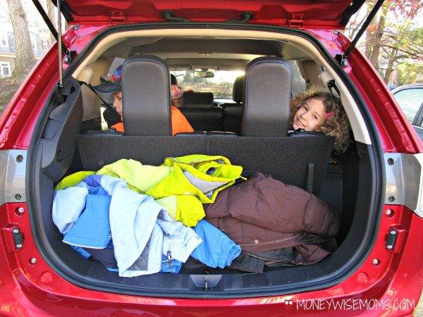 Mitsubishi Outlander Trunk #CarReview | MoneywiseMoms