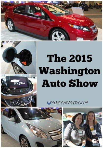 2015 Washington Auto Show | MoneywiseMoms