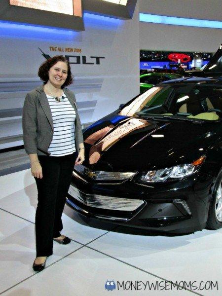 The 2016 Chevy Volt at the Washington Auto Show | MoneywiseMoms