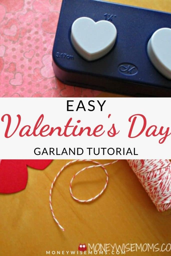 Brighten up your home with quick and easy Valentine decor! Even beginners can pull this Valentine Garland together in just a few minutes. It's a cute way to decorate for the holiday.