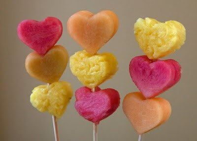 Heart Shaped Fruit Kebabs | Healthy Valentine Food for Kids | MoneywiseMoms