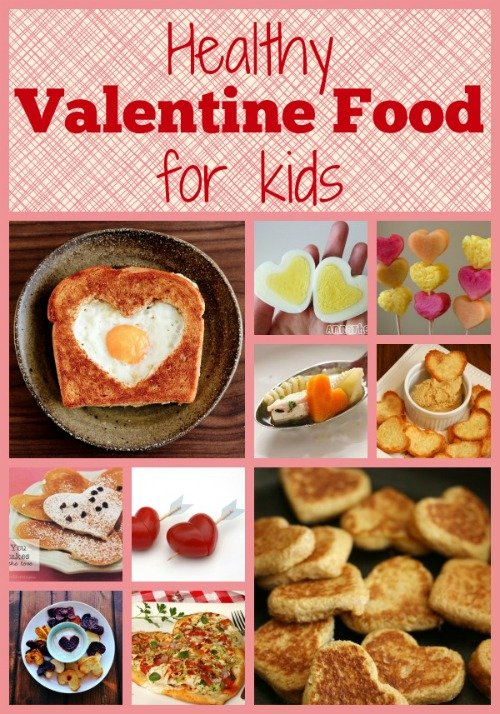 Healthy Valentine Food for Kids - ideas for breakfast, lunch and dinner