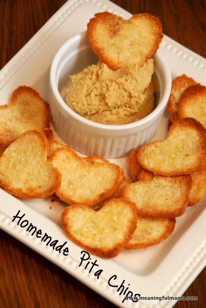 Homemade Pita Chips | Healthy Valentine Food for Kids | MoneywiseMoms