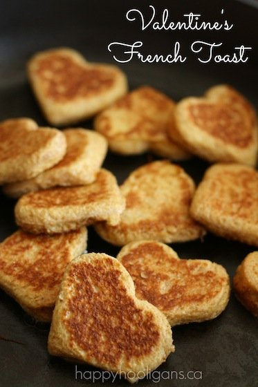 Valentine French Toast | Healthy Valentine Food for Kids | MoneywiseMoms