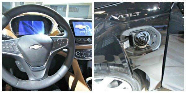 Chevy Volt Interior at the Washington Auto Show | MoneywiseMoms
