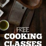 Free Cooking Classes for Better Home Cooking