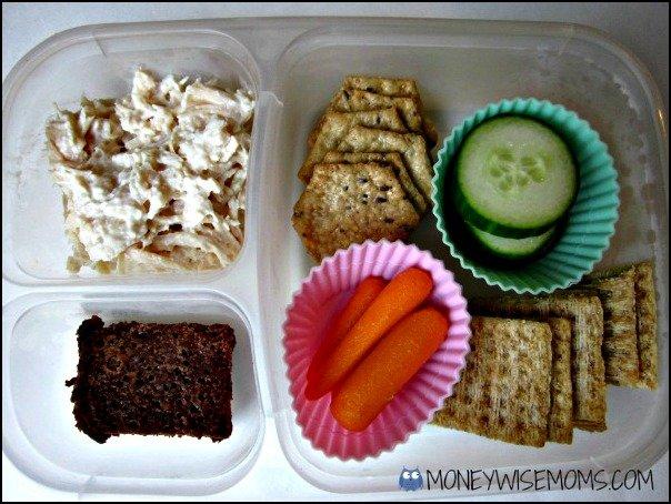 Chicken Salad Lunch | School Lunch Roundup Chicken Edition | MoneywiseMoms