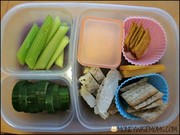 Chicken Strips Finger Food Lunch | School Lunch Roundup Chicken Edition | MoneywiseMoms