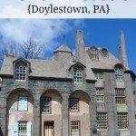 Fonthill Castle in Doylestown PA #familytravel