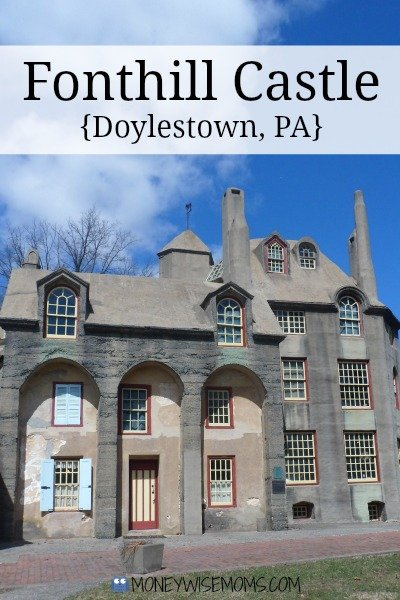 Fonthill Castle in Doylestown PA #familytravel