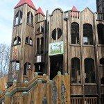 Kids Castle Playground in Doylestown PA #familytravel
