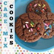 Cake Mix Cookies {Perfect for Potlucks}