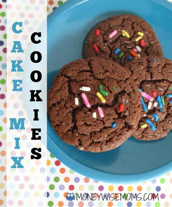 Cake Mix Cookies | MoneywiseMoms