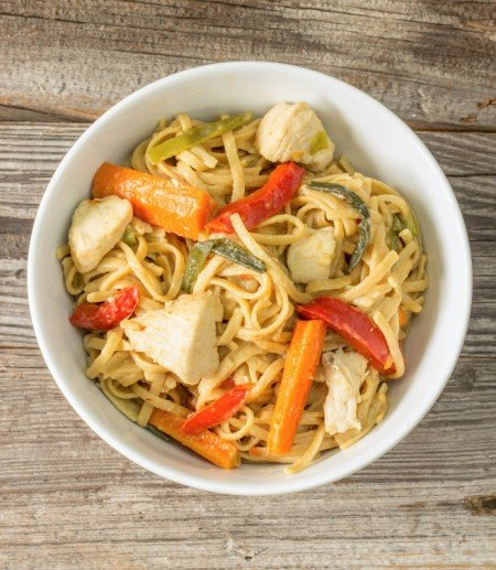 Chicken Lo Mein from The Wholesome Dish | Easy Pasta Dinners