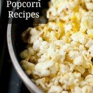 20 Savory Popcorn Recipes