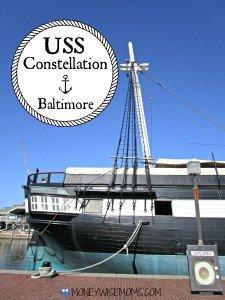 USS Constellation in Baltimore | historic ships #familytravel