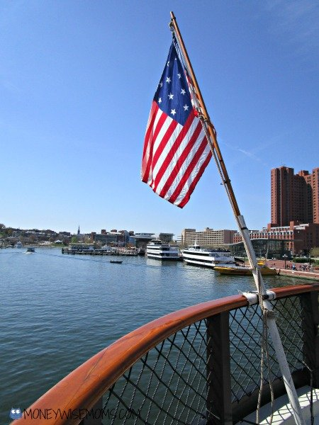 View from USS Constellation in Baltimore | historic ships #familytravel
