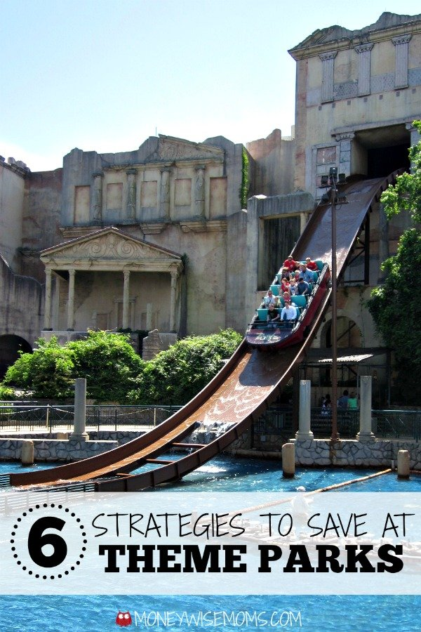 Smart ways to save money on #familytravel | Strategies to Save at Theme Parks