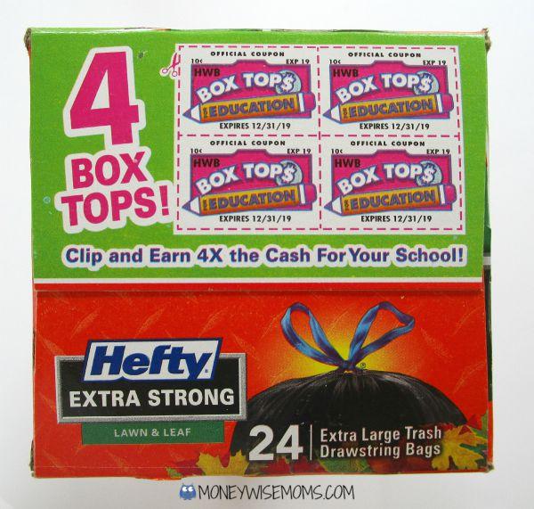DIY BoxTops Collector   #Hefty4BoxTops