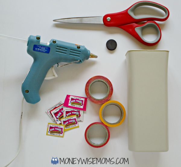 DIY BoxTops Fridge Collector | #Hefty4BoxTops | Box Tops for Education