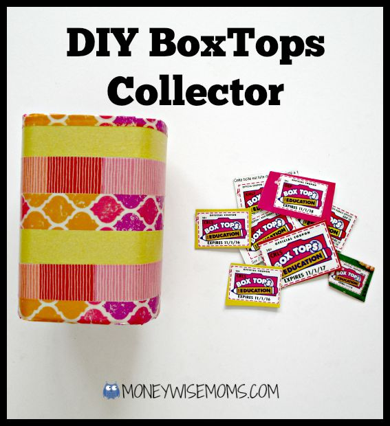 DIY BoxTops Fridge Collector | #Hefty4BoxTops