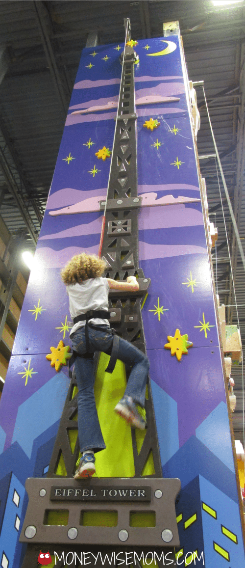 ClimbZone Laurel MD #familytravel