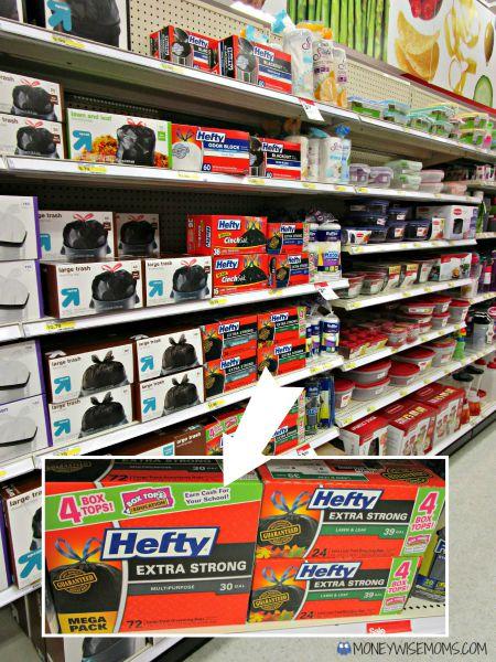 DIY BoxTops Collector   #Hefty4BoxTops   Box Tops for Education