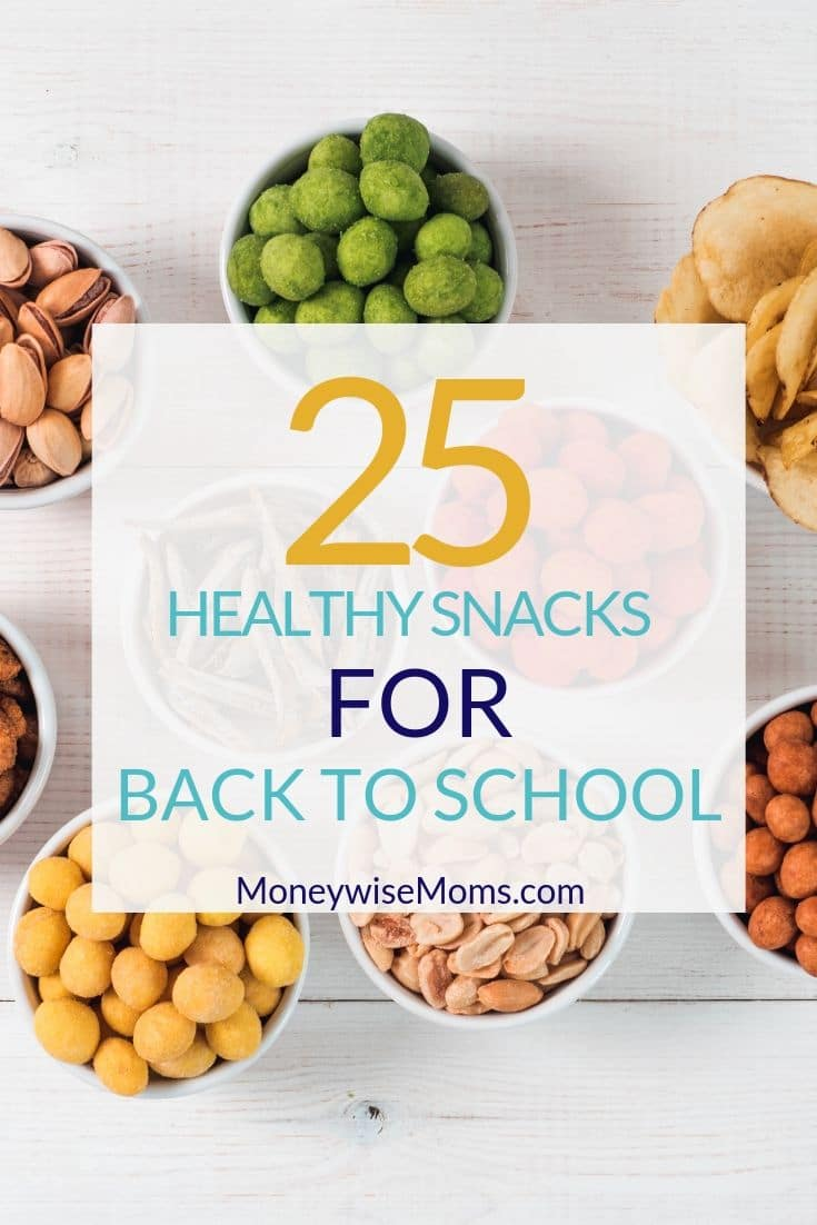 Take a look at these healthy snacks for back to school and see what you can put in your pantry for the busy weeks ahead.