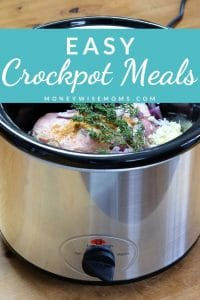 Try these Easy Crockpot Meals for Back to School. They're great additions to your fall menu plans.