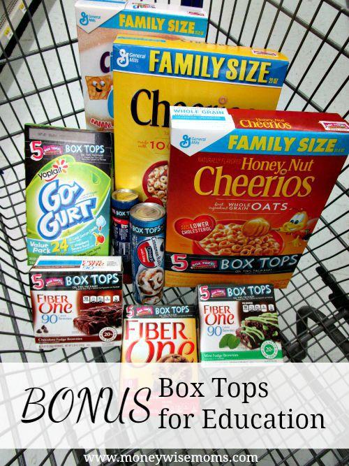 Bonus Box Tops General Mills