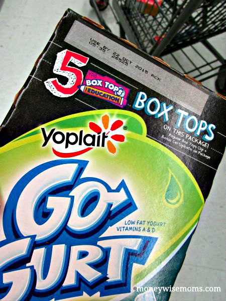 Bonus Box Tops on Go Gurt