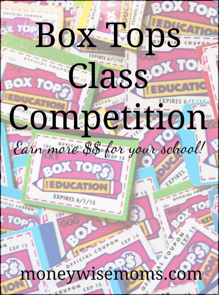 Box Tops Class Competition #BTFE #ad