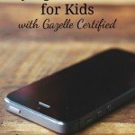 Buying Cell Phones for Kids {with Gazelle Certified}