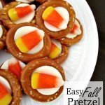 Easy Fall Pretzel Bites