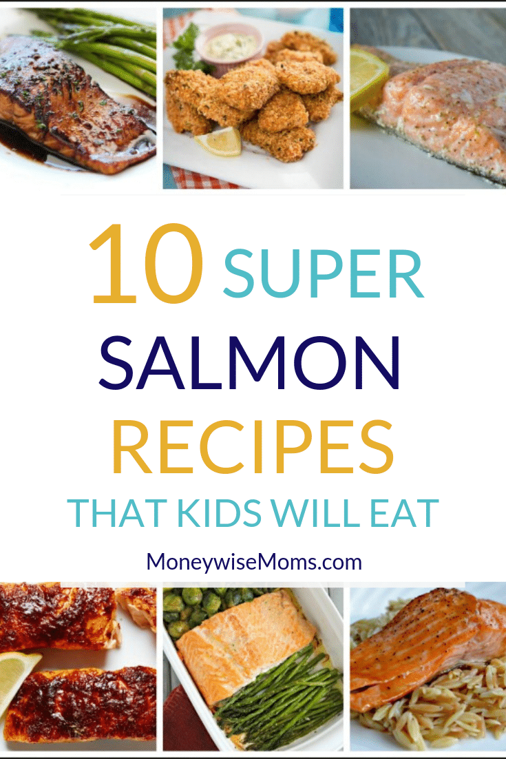 Salmon Recipes that kids will eat
