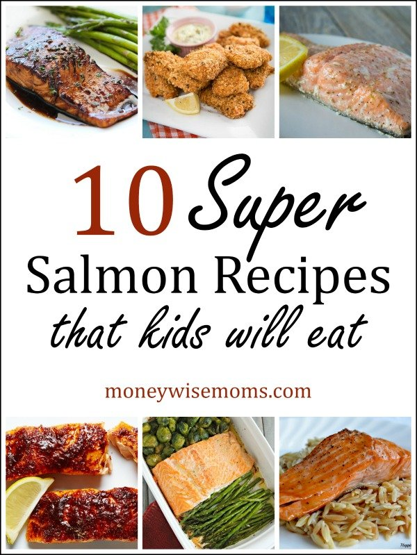 Super Salmon Recipes that kids will eat | frugal family-friendly dinners