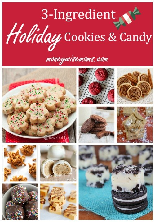 3 Ingredient Holiday Cookies And Candy 15 Easy Recipes That Let You Enjoy The