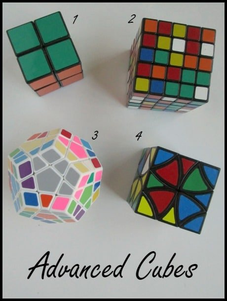 Advanced Cubes | Rubik's Cubes Rock! What You Need to Know
