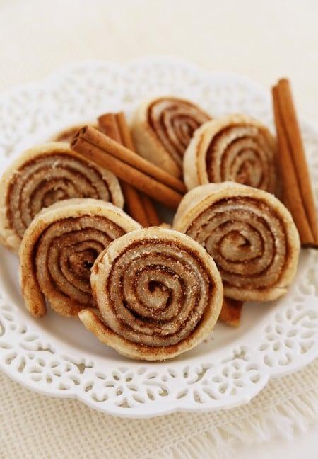Cinnamon Sugar Pie Crust Cookies from The Comfort of Cooking | 3-Ingredient Holiday Cookies