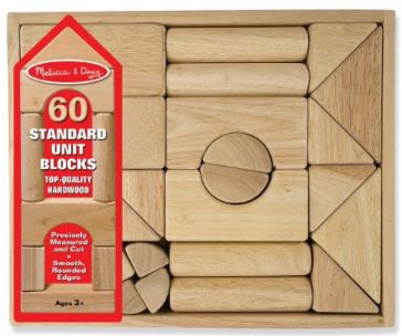 Melissa and Doug Standard Blocks | Recommendations for The Best Toys That Last The Longest (10+ years!) from a mom of big kids. These are the toys that are still going strong!