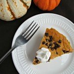 You Need to Make this Pumpkin Chocolate Chip Cheesecake