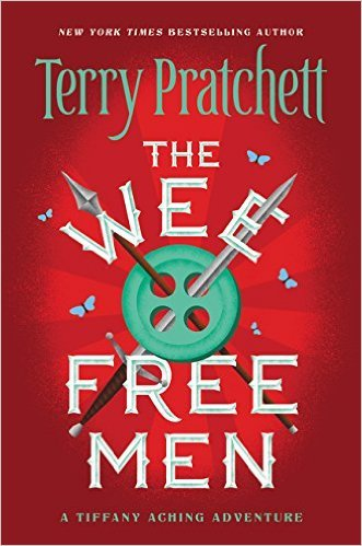 The Wee Free Men by Terry Pratchett | Children's Fantasy Books with Strong Heroines